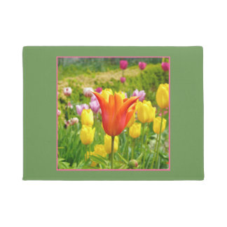 Colorful Tulips_321_B_R2 Doormat