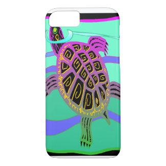 Colorful Turtle iPhone 7 Case