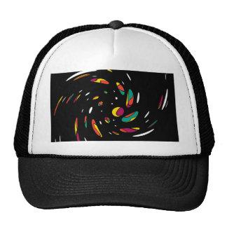 Colorful twist trucker hat