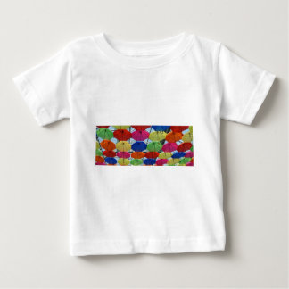 colorful Umbrella Baby T-Shirt