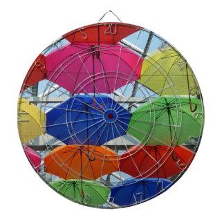 colorful Umbrella Dartboards