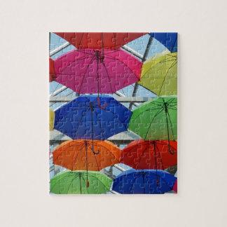colorful Umbrella Jigsaw Puzzle