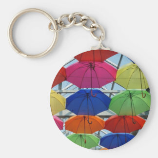 colorful Umbrella Keychain