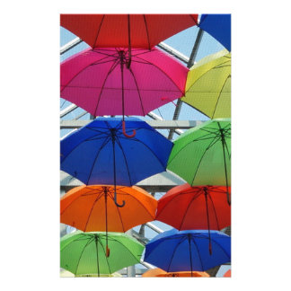 colorful Umbrella Stationery