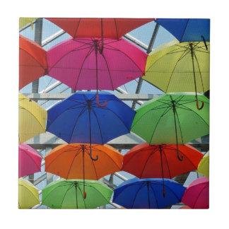 colorful Umbrella Tile