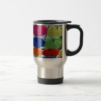 colorful Umbrella Travel Mug