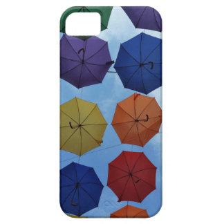 Colorful umbrellas iPhone 5 case