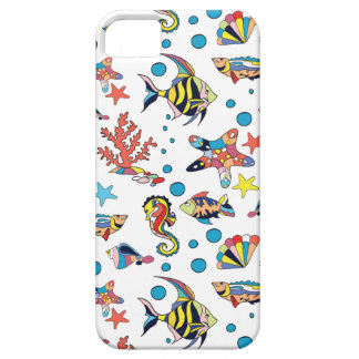 Colorful Underwater Sea Life Pattern Case For The iPhone 5
