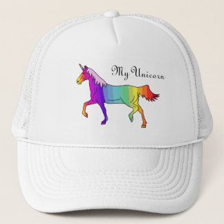 Colorful Unicorn Trucker Hat