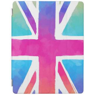 Colorful Union Jack Flag iPad Cover