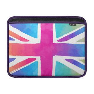Colorful Union Jack Flag MacBook Air Sleeve