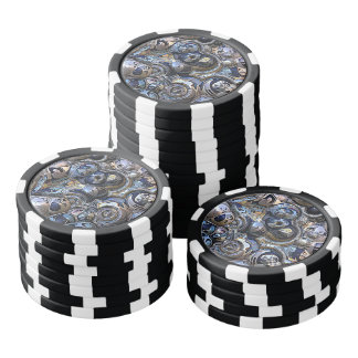 Colorful Urban Abstract Poker Chips