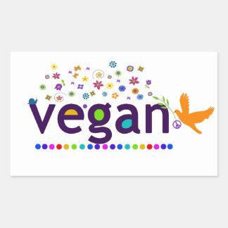 Colorful Vegan Sticker