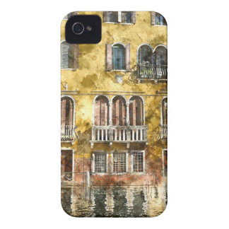 Colorful Venice Italy Buildings Case-Mate iPhone 4 Case