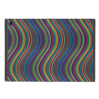 Colorful vertical waves case for iPad mini