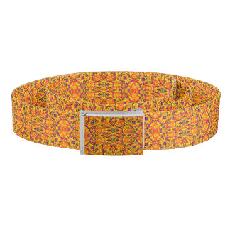 Colorful Vibrant Ornate Belt