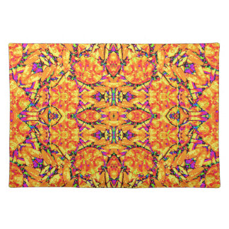Colorful Vibrant Ornate Placemat
