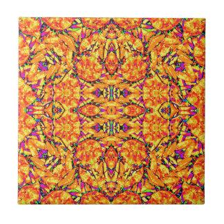 Colorful Vibrant Ornate Tile