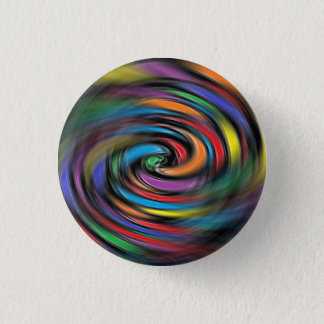 Colorful Vibrations 1 Inch Round Button