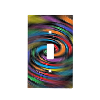 Colorful Vibrations Light Switch Cover