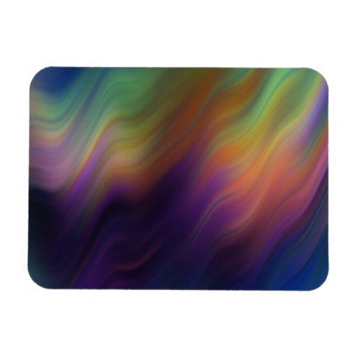 Colorful Vibrations Flexible Magnets