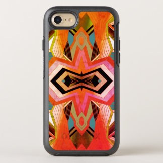 Colorful Vintage Geometric Vibes OtterBox Symmetry iPhone 8/7 Case