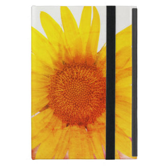 Colorful Vintage Sunflower Case For iPad Mini