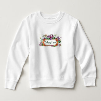 Colorful Vintage Violet Toddler Sweatshirt