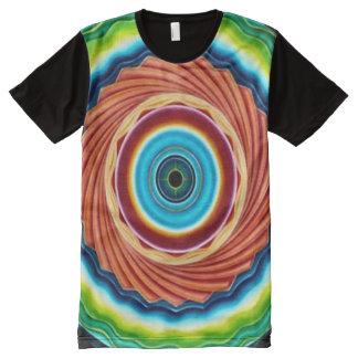 Colorful Vortex Spirit Mandala Airbrush Art