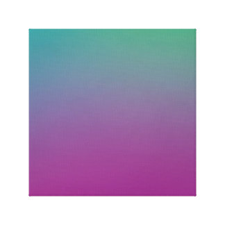 Colorful Wallpaper on a Canvas Print
