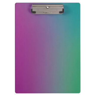 Colorful Wallpaper on a Clipboard