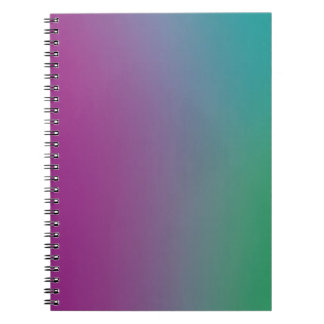 Colorful Wallpaper on a Notebook
