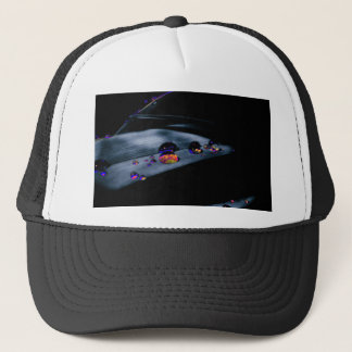 Colorful Water Drops Trucker Hat