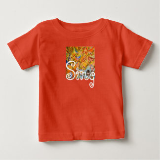 Colorful Watercolor Birds Sing Infant T-Shirt