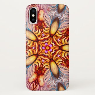 Colorful Watercolor Dandelion Faerie Mandala Case-Mate iPhone Case