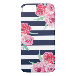 Colorful Watercolor Floral Pattern iPhone 8 Plus/7 iPhone 8/7 Case