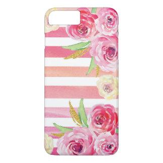 Colorful Watercolor Floral Pattern iPhone 8 Plus/7 Plus Case