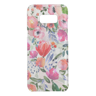 Colorful Watercolor Flowers Pattern Get Uncommon Samsung Galaxy S8 Plus Case