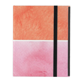colorful watercolor iPad cases