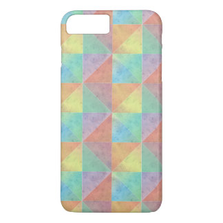 Colorful Watercolor Triangles Pattern iPhone 7 Plus Case