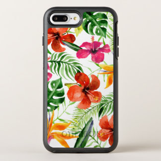 Colorful Watercolor Tropical Floral | Phone Case