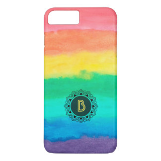 Colorful Watercolors Brush Strokes iPhone 7 Plus Case