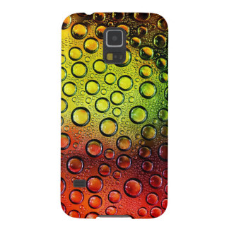 colorful waterdrops vector art galaxy s5 case