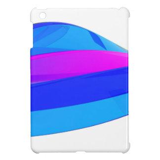 Colorful wave iPad mini cover