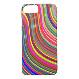 Colorful Wavy iPhone 7 Case