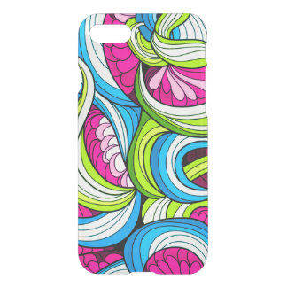 Colorful Wavy Psychedelic Pattern iPhone 8/7 Case