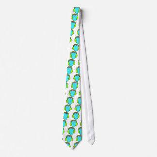 Colorful Wearing Headphones Tie