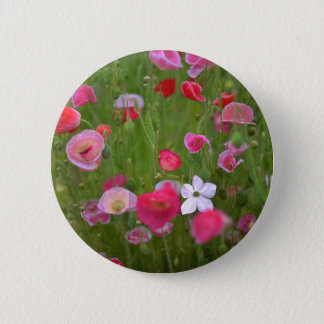 Colorful Weeds 2 Inch Round Button