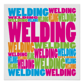 Colorful Welding Poster