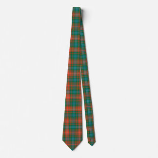 Colorful Wilson Tartan Plaid Neck Tie